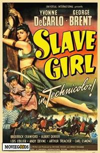 Slave Girl - 43 x 62 Movie Poster - Bus Shelter Style A