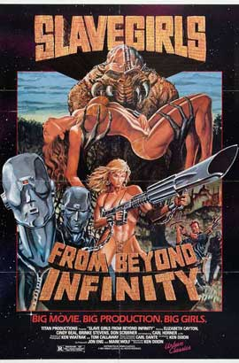 Slave Girls from Beyond Infinity - 11 x 17 Movie Poster - Style A