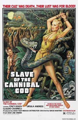 Mountain of the Cannibal God - 11 x 17 Movie Poster - Style B