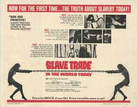 Slave Trade in the World Today - 11 x 14 Movie Poster - Style A