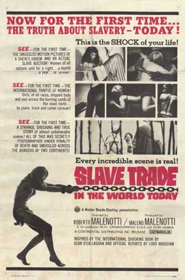 Slave Trade in the World Today - 11 x 17 Movie Poster - Style A