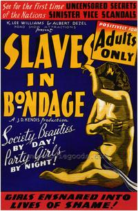 Slaves in Bondage - 43 x 62 Movie Poster - Bus Shelter Style A