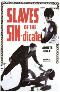 Slaves of the Sin-dicate - 27 x 40 Movie Poster - Style A