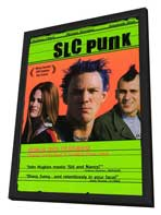 SLC Punk! - 11 x 17 Movie Poster - Style A - in Deluxe Wood Frame