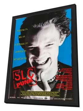 SLC Punk! - 11 x 17 Movie Poster - Style C - in Deluxe Wood Frame