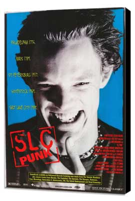 SLC Punk! - 27 x 40 Movie Poster - Style C - Museum Wrapped Canvas