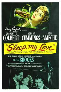 Sleep My Love - 27 x 40 Movie Poster - Style A