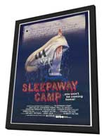 Sleepaway Camp - 11 x 17 Movie Poster - Style A - in Deluxe Wood Frame
