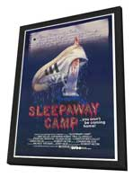 Sleepaway Camp - 27 x 40 Movie Poster - Style A - in Deluxe Wood Frame