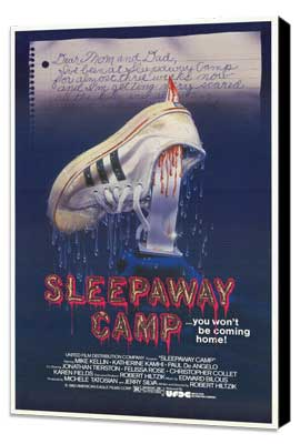 Sleepaway Camp - 27 x 40 Movie Poster - Style A - Museum Wrapped Canvas