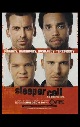 Sleeper Cell - 11 x 17 TV Poster - Style A