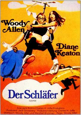 Sleeper - 11 x 17 Movie Poster - German Style A