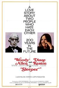 Sleeper - 43 x 62 Movie Poster - Bus Shelter Style A