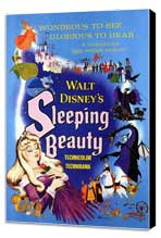 Sleeping Beauty - 11 x 17 Movie Poster - Style B - Museum Wrapped Canvas