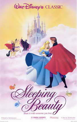 Sleeping Beauty - 11 x 17 Movie Poster - Style J