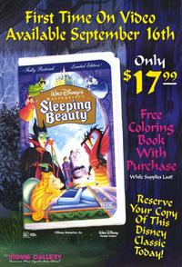 Sleeping Beauty - 11 x 17 Movie Poster - Style K