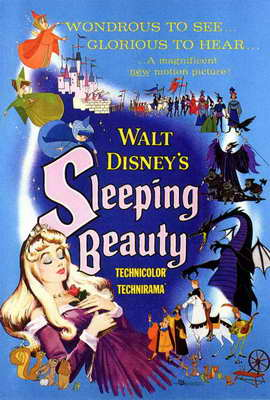 Sleeping Beauty - 27 x 40 Movie Poster - Style B