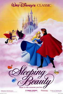 Sleeping Beauty - 27 x 40 Movie Poster - Style E