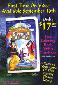 Sleeping Beauty - 27 x 40 Movie Poster - Style H