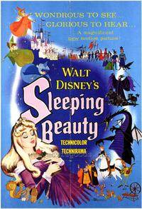 Sleeping Beauty - 43 x 62 Movie Poster - Bus Shelter Style D