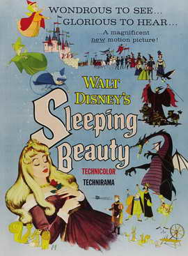 Sleeping Beauty - 11 x 17 Movie Poster - Style F
