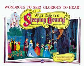 Sleeping Beauty - 22 x 28 Movie Poster - Half Sheet Style A