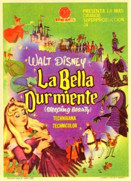 Sleeping Beauty - 11 x 17 Movie Poster - Spanish Style C