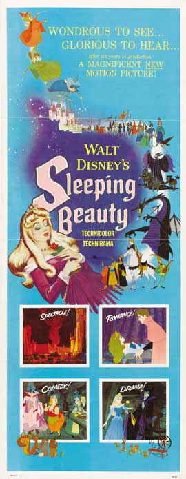 Sleeping Beauty - 14 x 36 Movie Poster - Insert Style A