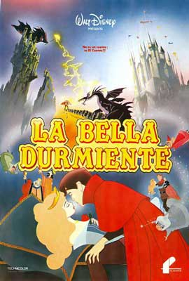 Sleeping Beauty - 27 x 40 Movie Poster - Spanish Style A