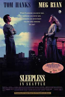 Sleepless in Seattle - 11 x 17 Movie Poster - Style B