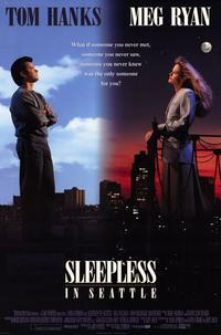Sleepless in Seattle - 11 x 17 Movie Poster - Style A - Museum Wrapped Canvas