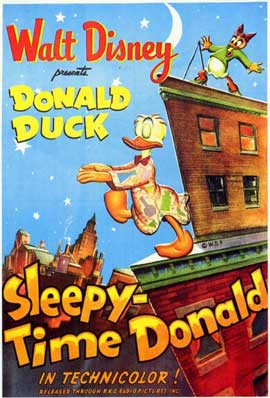 Sleepy Time Donald - 11 x 17 Movie Poster - Style A