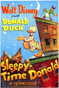 Sleepy Time Donald - 43 x 62 Movie Poster - Bus Shelter Style A