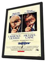 Sleuth - 11 x 17 Movie Poster - Style A - in Deluxe Wood Frame