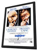 Sleuth - 27 x 40 Movie Poster - Style B - in Deluxe Wood Frame