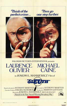 Sleuth - 11 x 17 Movie Poster - Style A