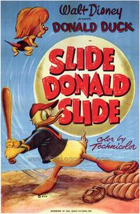 Slide Donald Slide - 43 x 62 Movie Poster - Bus Shelter Style A