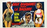 Slightly Scarlet - 20 x 40 Movie Poster - Belgian Style A