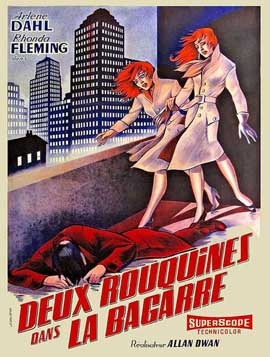 Slightly Scarlet - 11 x 17 Movie Poster - French Style A