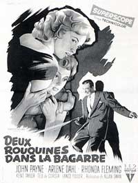 Slightly Scarlet - 11 x 17 Movie Poster - French Style B