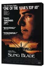 Sling Blade - 11 x 17 Movie Poster - Style C - Museum Wrapped Canvas