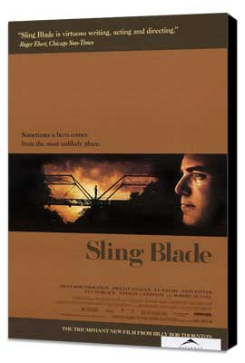 Sling Blade - 27 x 40 Movie Poster - Style A - Museum Wrapped Canvas