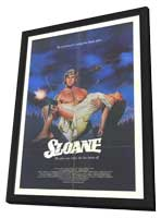 Sloane - 11 x 17 Movie Poster - Style A - in Deluxe Wood Frame