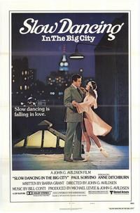 Slow Dancing In the Big City - 27 x 40 Movie Poster - Style A