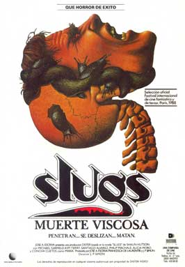 Slugs: The Movie - 27 x 40 Movie Poster - Spanish Style A