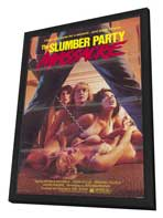 Slumber Party Massacre - 27 x 40 Movie Poster - Style A - in Deluxe Wood Frame