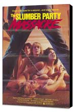 Slumber Party Massacre - 27 x 40 Movie Poster - Style A - Museum Wrapped Canvas