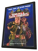Small Soldiers - 27 x 40 Movie Poster - Style B - in Deluxe Wood Frame