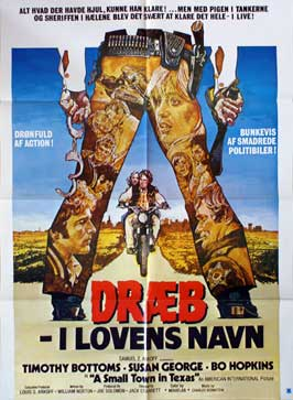 A Small Town in Texas - 27 x 40 Movie Poster - Danish Style A