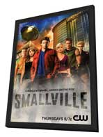 Smallville (TV) - 11 x 17 TV Poster - Style K - in Deluxe Wood Frame